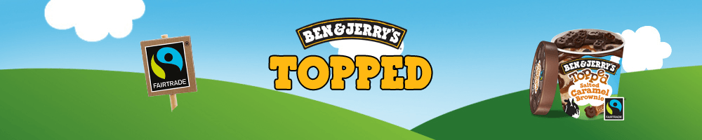 Ben & Jerry's Topped (470 ml)