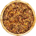 Barbecue Bacon Beef Pizza