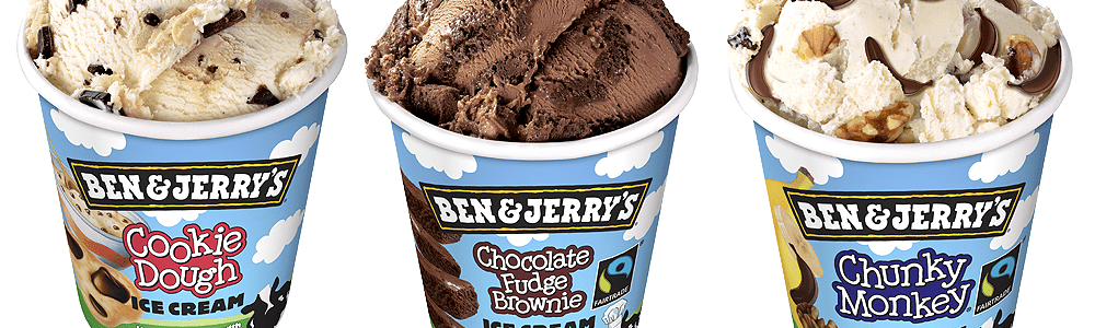 Ben & Jerry's ijs 500 ml