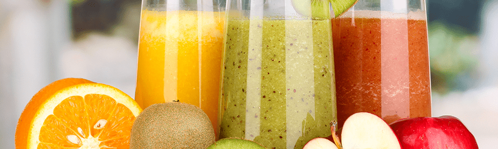 Vers sap en smoothies