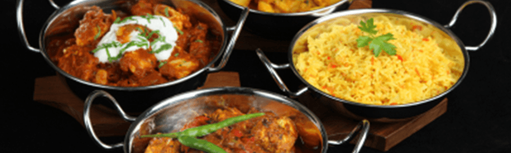 Standaard curry menu