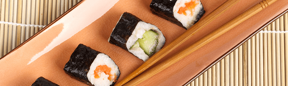 Mini maki whole roll
