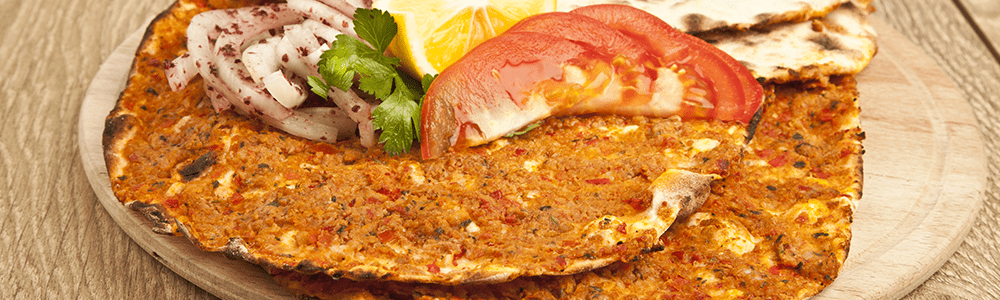 Lahmacun of durum