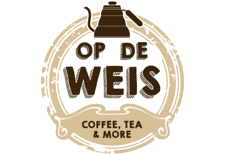 logo Op de Weis, Coffee, Tea & More