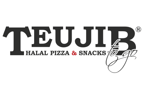 logo Teujib Halal Pizza & Snacks To Go