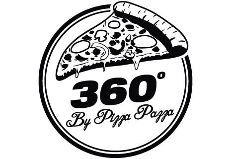 logo 360 º by Pizza Pazza