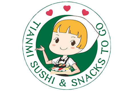logo Tianmi sushi & snacks to go