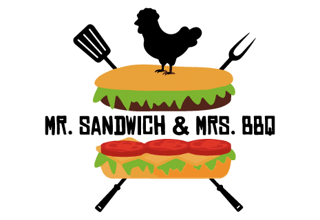 logo Mr. Sandwich & Mrs. BBQ