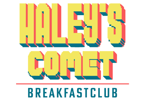 logo Haley's Comet Breakfastclub