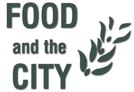 logo Mediterranean food and the city