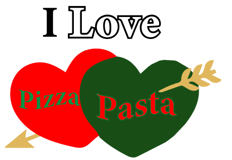 logo I love Pizza Pasta