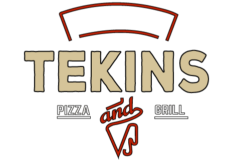 logo Tekins Pizza and Grill