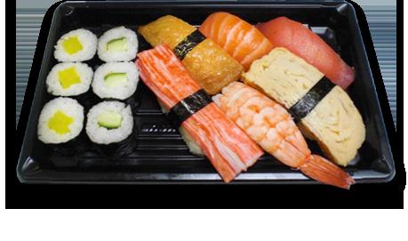 ikura sushi bar amsterdam sushi fisch essen bestellen. Black Bedroom Furniture Sets. Home Design Ideas